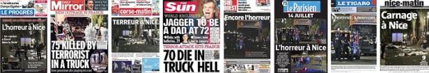 Attentat Nice Presse