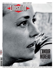 Hommage Presse Jeanne Moreau