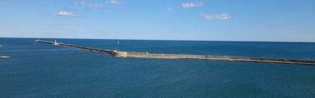 Entrée du port maritime de Sète