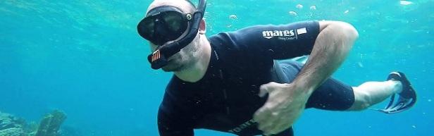 Sport de plage plongée