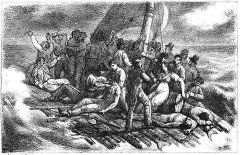 Les survivants du Radeau de La Méduse