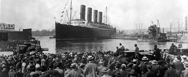 Titanic Départ