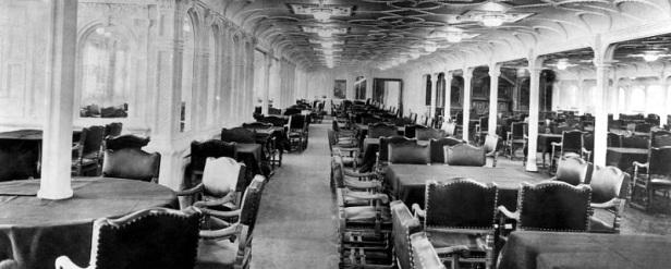 Titanic intérieur