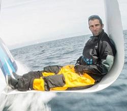 Navigateur français célèbre Armel Le Cléac_h