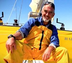 Navigateur français célèbre Loïck Peyron