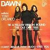 Tony Orlando & Dawn - Tie a yellow ribbon 'round the old oak tree