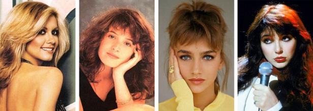 Chanteuses célèbres des années 80