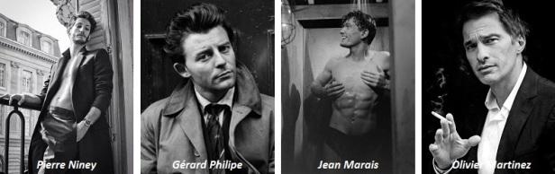 Les plus beaux acteurs français