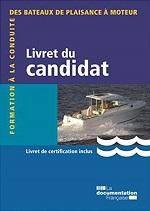 Permis bateau Livret du candidat