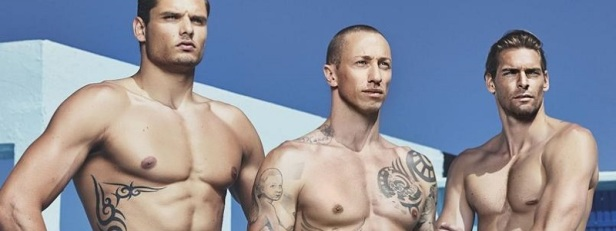 Calendrier hommes nus