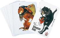 Jeu de cartes chat