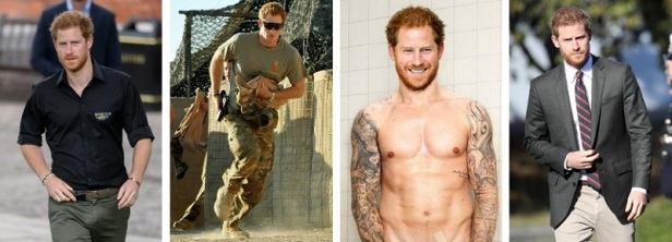 Bel homme roux Prince Harry
