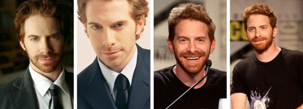 Bel homme roux Seth Green