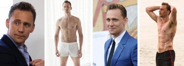 Bel homme roux Tom Hiddleston