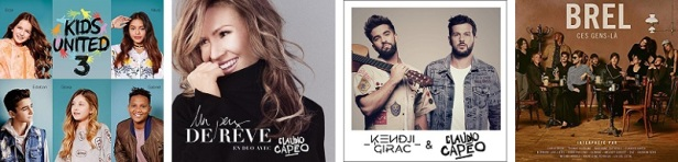 Claudio Capéo Discographie Albums Duos