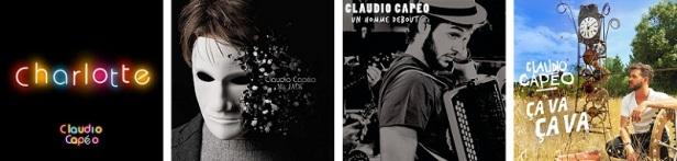 Claudio Capéo Discographie Singles 1