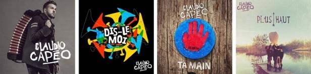 Claudio Capéo Discographie Singles 2