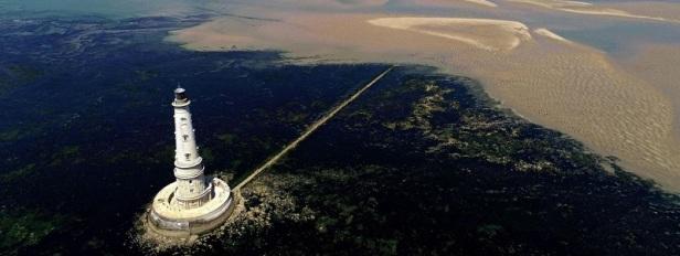 phare de Corduan drone