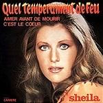 Sheila discographie Quel Tempérament de feu