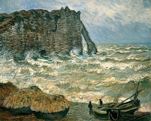 Claude Monet peinture mer