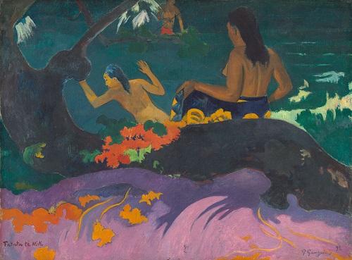Paul Gauguin peinture mer exotique