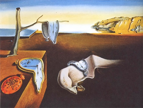 Salvador Dali peinture mer réflexion