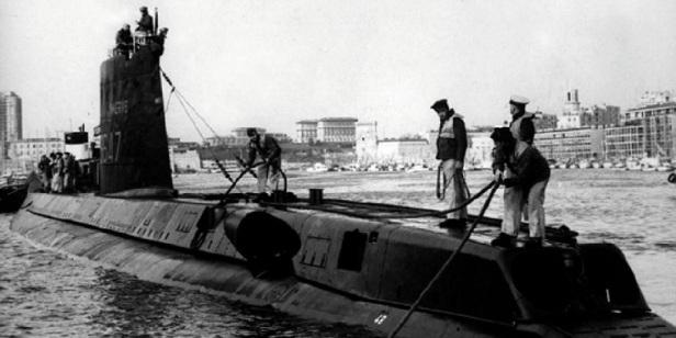 Sous-marin naufrage
