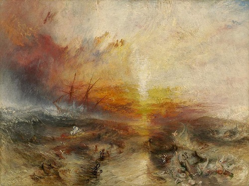 William Turner peinture scandale mer