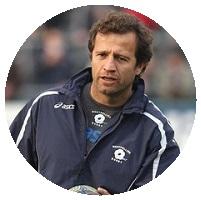 Plus grand rugbyman français Fabien Galthié