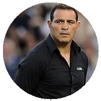 Plus grand rugbyman français Raphaël Ibañez