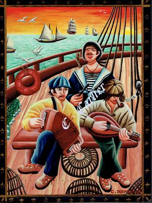 Des peintres et des marins Carlier