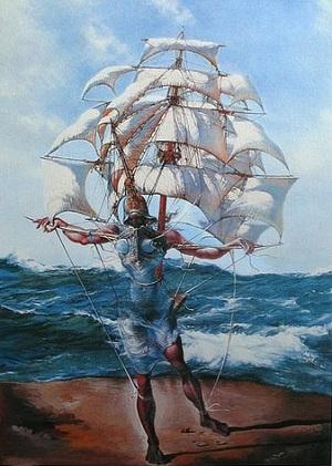 Des peintres et des marins Dali