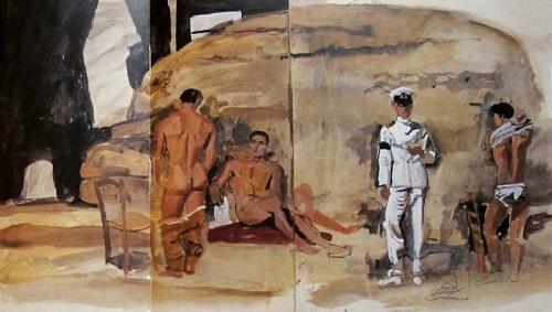 Des peintres et des marins Tsarouchis
