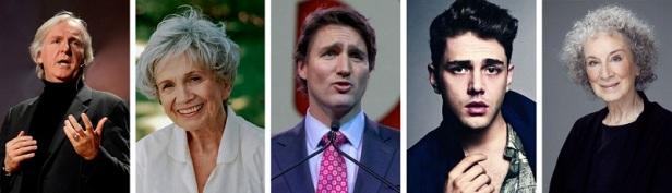Personnalités célèbres Canada