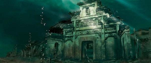Cité engloutie Chine