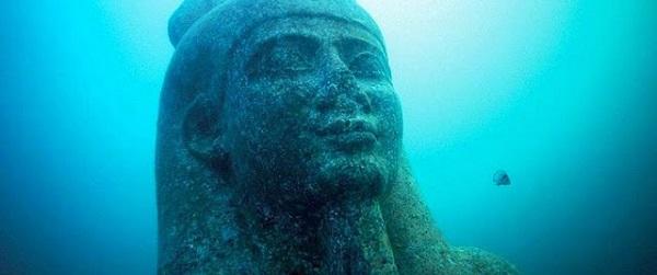 Cité engloutie Egypte