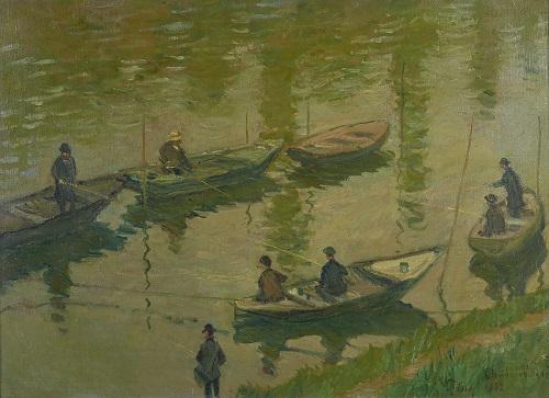 Tableau pêcheur 10