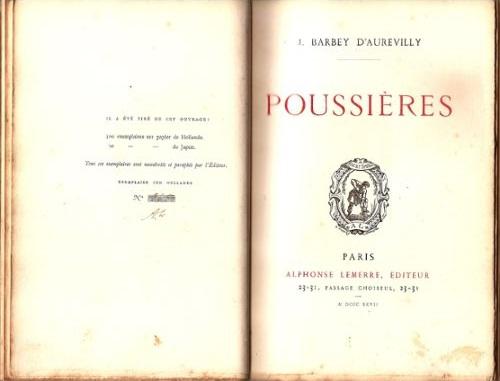 Poème Poussières