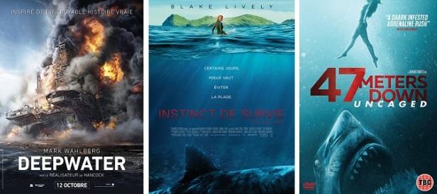 Films d'horreur marins