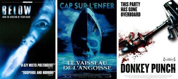 Films d'horreur maritimes
