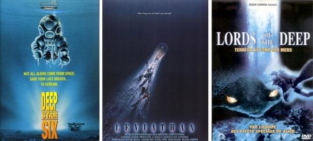 Films d'horreur sousmarins