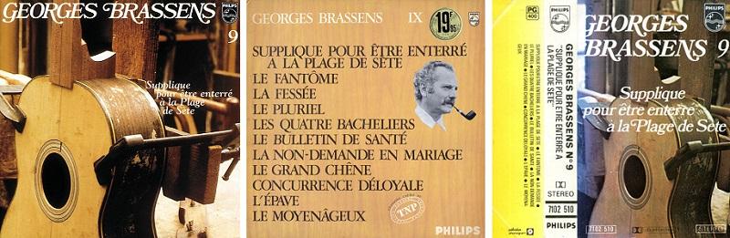 Brassens discographie